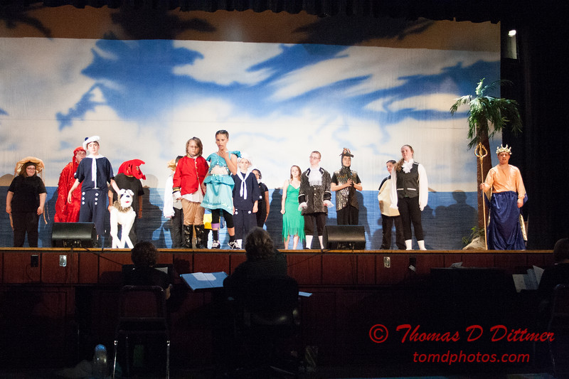 The Penguin Project Dress Rehearsals - Stroud Auditorium - University High School - Normal Illinois