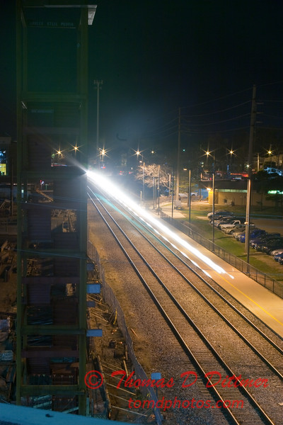 2011 - 4/2 - Night time in Uptown Normal Illinois - 3