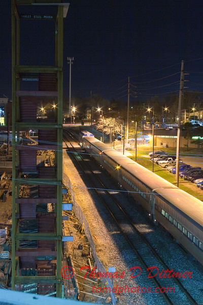 2011 - 4/2 - Night time in Uptown Normal Illinois - 5
