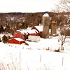 2011 - Daily Photo - Farm buildings South of Dubuque Iowa - 1/30 - 5