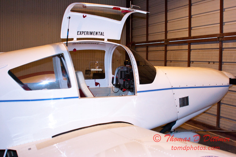 2011 - 1/8 - Larry Hatfield and Home built experimental aircraft - Central Illinois Regional Airport - Bloomington Illinois - 3