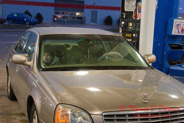 2011 - 1/7 - My automobile at a fueling station - Circle K - Normal Illinois - 3