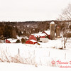 2011 - Daily Photo - Farm buildings South of Dubuque Iowa - 1/30 - 7