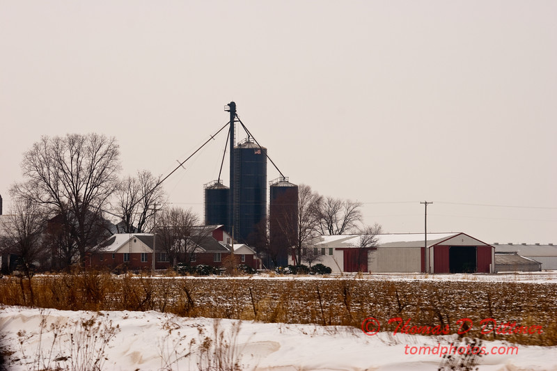 2011 - 1/17 - Daily Photo - Interstate 57  - Central Illinois -  1