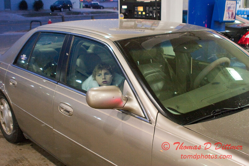 2011 - 1/7 - My automobile at a fueling station - Circle K - Normal Illinois - 5