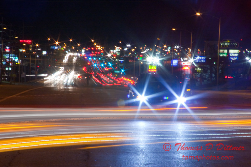 2011 - 1/1 - Daily Photo - Veteran's Parkway and Clearwater Avenue - Bloomington Illinois - Looking North - 1