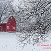(# 3) Barn in the snow