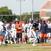 Chicago Bears training camp practice