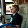 (# 4) Aubrey surveys a motor home