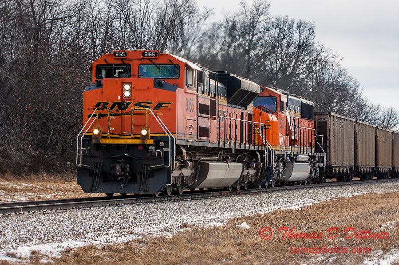 # 16 - Freight train in Central Illinois
