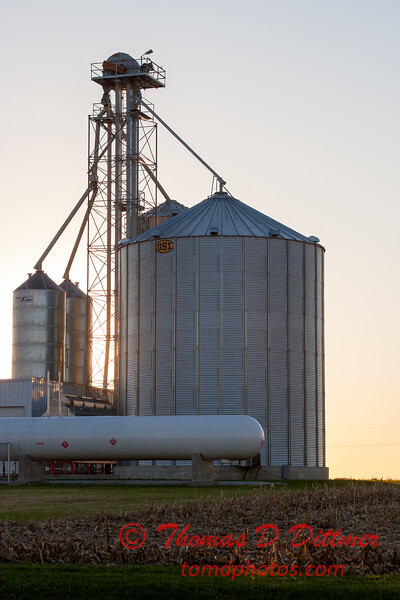 4 - An elevator on a farm in McLean County - Northern Rural McLean County - Sunday October 29 2006