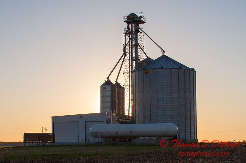 3 - An elevator on a farm in McLean County - Northern Rural McLean County - Sunday October 29 2006