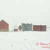 5 - Farm buildings in McLean County on a snowy day - Northern McLean County Illinois - Monday December 1st 2008