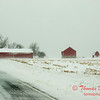 3 - Farm buildings in McLean County on a snowy day - Northern McLean County Illinois - Monday December 1st 2008