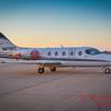 (# 17) Hawker Beechcraft 400A on Byerly Aviation Ramp