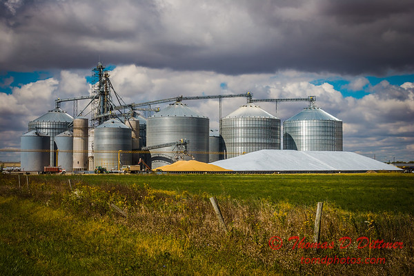 2010 - Grain Elevator and Storage - Gibson City Illinois - Sunday October 3rd - 12