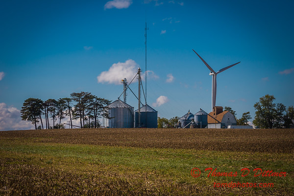 2010 - Windmill Farm east of Bloomington Illinois - Sunday October 3rd - 1