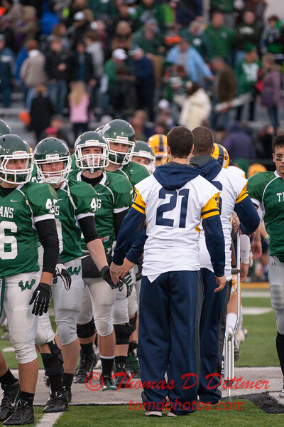 Augustana College Vikings at Illinois Wesleyan University Titans - Tucci Stadium