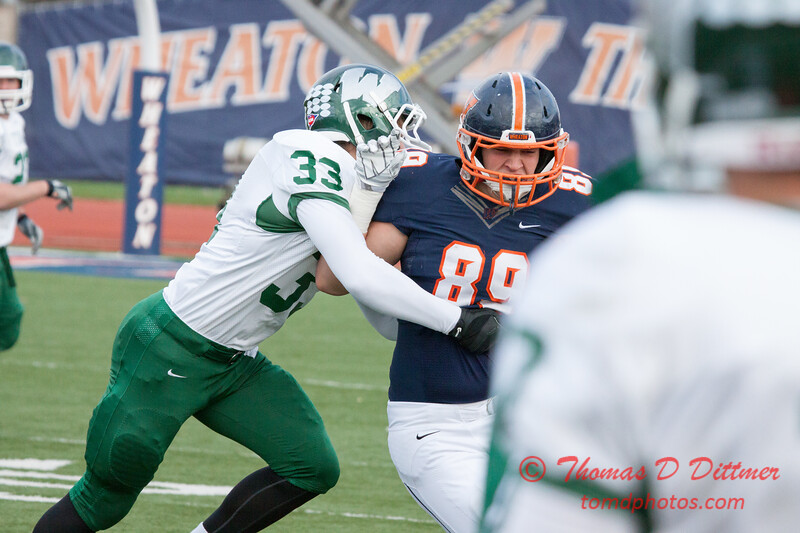219 - Illinois Wesleyan University Titans at Wheaton College Thunder - McCully Stadium