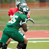 10 - Benedictine Eagles at Illinois Wesleyan Fighting Titans - Scrimmage - Tucci Stadium - Bloomington Illinois