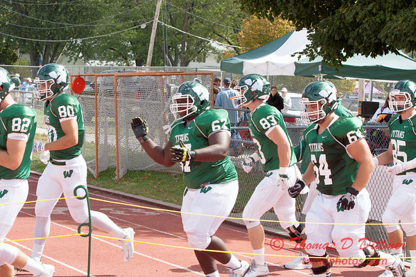 8 - NCAA Div III Football - Simpson College at Illinois Wesleyan University - Tucci Stadium - Bloomington Illinois