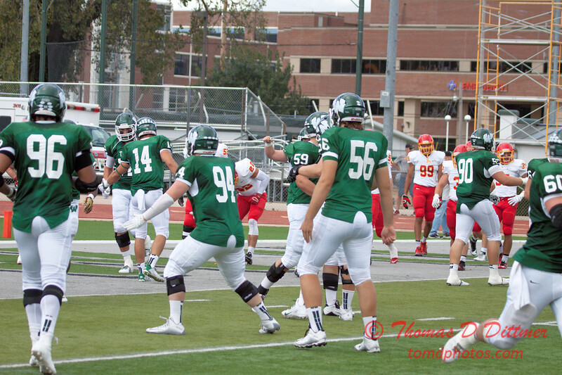 286 - NCAA Div III Football - Simpson College at Illinois Wesleyan University - Tucci Stadium - Bloomington Illinois