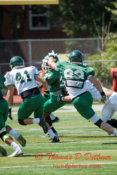 122 - Watermelon Scrimmage - Illinois Wesleyan University Fighting Titans Football - Tucci Stadium - Bloomington Illinois
