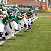 12 - Watermelon Scrimmage - Illinois Wesleyan University Fighting Titans Football - Tucci Stadium - Bloomington Illinois