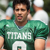 7 - Watermelon Scrimmage - Illinois Wesleyan University Fighting Titans Football - Tucci Stadium - Bloomington Illinois