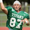 8 - Watermelon Scrimmage - Illinois Wesleyan University Fighting Titans Football - Tucci Stadium - Bloomington Illinois