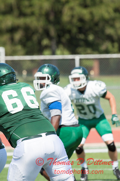 153 - Watermelon Scrimmage - Illinois Wesleyan University Fighting Titans Football - Tucci Stadium - Bloomington Illinois