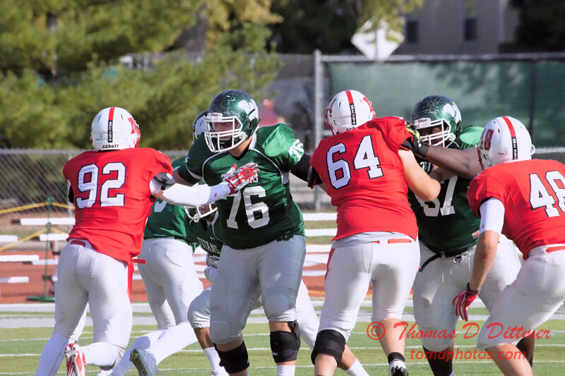 80 - 2015 NCAA Div III JV Football - Monmouth College at Illinois Wesleyan University - Tucci Stadium - Bloomington Illinois