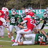 2 - 2015 NCAA Div III JV Football - Monmouth College at Illinois Wesleyan University - Tucci Stadium - Bloomington Illinois