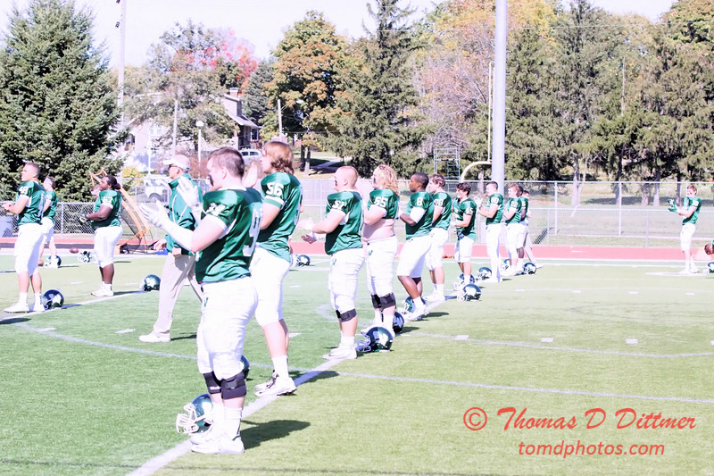 7 - 2015 NCAA Div III Football - Millikin University at Illinois Wesleyan University - Tucci Stadium - Bloomington Illinois