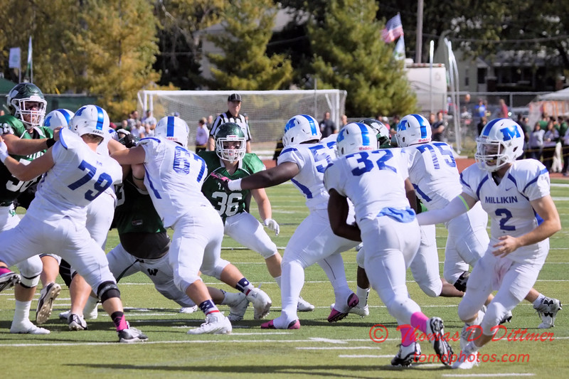 103 - 2015 NCAA Div III Football - Millikin University at Illinois Wesleyan University - Tucci Stadium - Bloomington Illinois