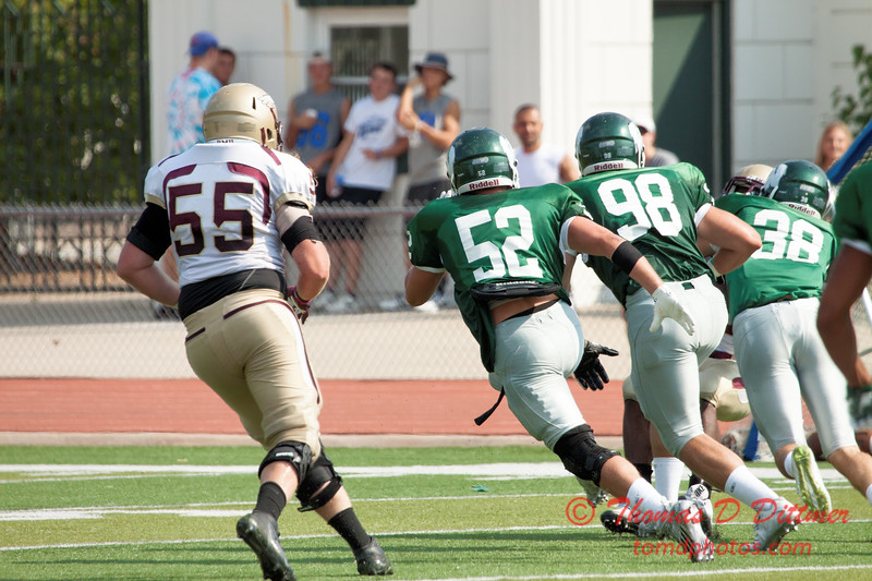 218 - Robert Morris University at Illinois Wesleyan University - JV Football - Tucci Stadium - Bloomington Illinois