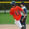 2010 -  IESA Baseball - Kingsley Junior High School at Fieldcrest Junior High School - Fieldcrest East Middle School - Wenona Illinois - Friday September 10th - 400