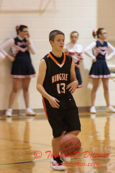 IESA Basketball (8th Grade) - Normal Kingsley Junior High School at Pontiac Junior High School