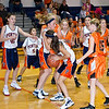 2011 - 10/17 - IESA Girls Basketball - Kingsley Junior High School at Pontiac Junior High School - Pontiac Illinois - 61