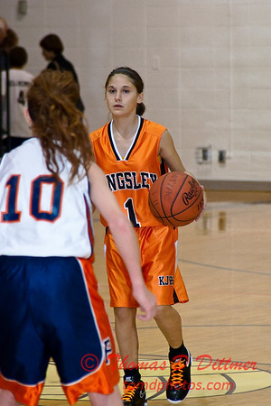 2011 - 10/17 - IESA Girls Basketball - Kingsley Junior High School at Pontiac Junior High School - Pontiac Illinois - 86