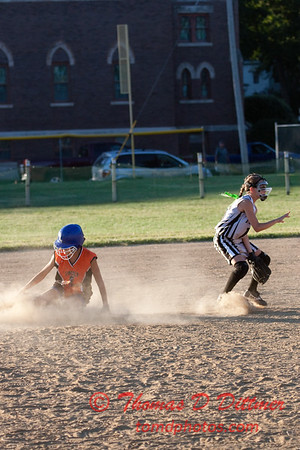 2010 -  IESA - Softball - Parkside Junior High School Lady Pythons at Lincoln Junior High School Lady Trojans - Lincoln Illinois - Thursday August 26th - 329