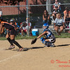 2010 -  IESA - Softball - Parkside Junior High School Lady Pythons at Lincoln Junior High School Lady Trojans - Lincoln Illinois - Thursday August 26th - 144