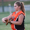 2010 -  IESA - Softball - Parkside Junior High School Lady Pythons at Lincoln Junior High School Lady Trojans - Lincoln Illinois - Thursday August 26th - 397