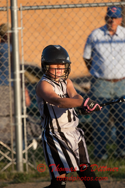 2010 -  IESA - Softball - Parkside Junior High School Lady Pythons at Lincoln Junior High School Lady Trojans - Lincoln Illinois - Thursday August 26th - 369