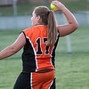 2010 -  IESA - Softball - Parkside Junior High School Lady Pythons at Lincoln Junior High School Lady Trojans - Lincoln Illinois - Thursday August 26th - 399