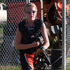 2010 -  IESA - Softball - Parkside Junior High School Lady Pythons at Lincoln Junior High School Lady Trojans - Lincoln Illinois - Thursday August 26th - 303
