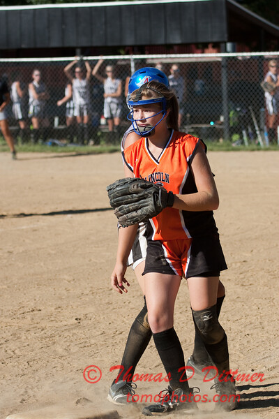 2010 -  IESA - Softball - Parkside Junior High School Lady Pythons at Lincoln Junior High School Lady Trojans - Lincoln Illinois - Thursday August 26th - 138
