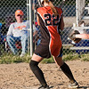 2010 -  IESA - Softball - Parkside Junior High School Lady Pythons at Lincoln Junior High School Lady Trojans - Lincoln Illinois - Thursday August 26th - 333