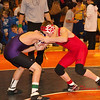 2012 - 1- 7 -  IESA Wrestling - Olympia Invitational - Olympia High School - Stanford Illinois - 119