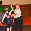 2012 - 1- 7 -  IESA Wrestling - Olympia Invitational - Olympia High School - Stanford Illinois - 113